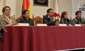 En Chuquisaca inauguran la jornada electoral  con normalidad y con la presencia de autoridades