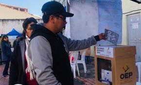 La Presidenta del TED La Paz convoca a la población paceña a emitir su voto este 20 de octubre