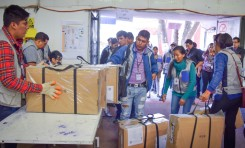 El TED Cochabamba continúa con la distribución de las maletas electorales en el área rural