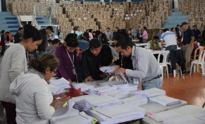 Elecciones Generales: el TED Santa Cruz concluye con el armado de las 8.621 maletas electorales