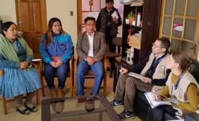 Los observadores de la OEA visitarán comunidades del área rural de Potosí el día de la jornada electoral