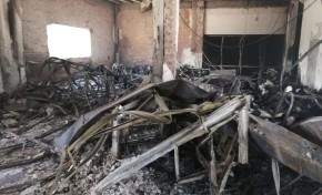Tras la quema del miércoles, las instalaciones del TED Santa Cruz serán demolidas