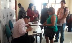 Cuatro de nueve Tribunales Electorales Departamentales mantienen su atención a la ciudadanía pese a los conflictos sociales