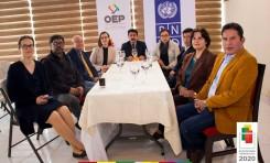 TED Cochabamba y PNUD presentan proyecto 'Cultura de paz y fortalecimiento del OEP'
