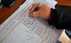 No deje casillas en blanco en la sección de cómputo de votos de las actas escrutinio