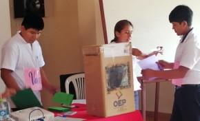 Se conforman 24 gobiernos estudiantiles en El Torno hasta el 30 de marzo