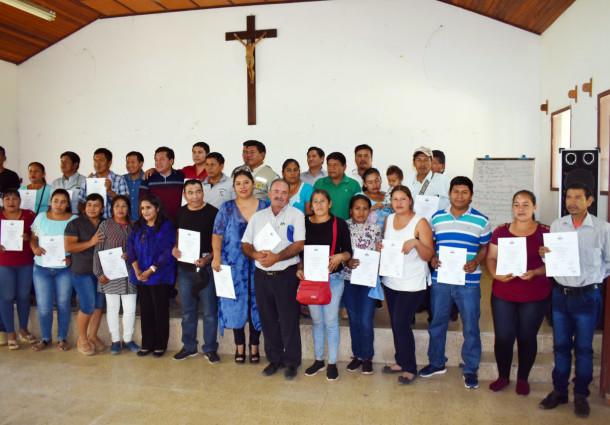 Reciben credenciales 27 asambleístas de la AIOC Guaraní Charagua Iyambae