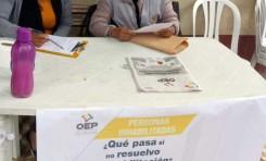 TED Cochabamba atiende consultas y reclamos de ciudadanos inhabilitados en oficinas del Serecí y puntos desconcentrados