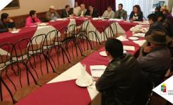 TED Chuquisaca y PNUD instalan mesa de diálogo con organizaciones sociales