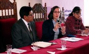 """El TED Potosí y el PNUD implementan el proyecto """"Cultura de la paz y fortalecimiento del OEP de Bolivia"""""""