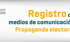 El TSE registrará medios para difundir propaganda hasta las 23:59 del 19 de marzo