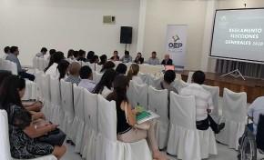 El TED Tarija socializa la normativa electoral con jueces electorales