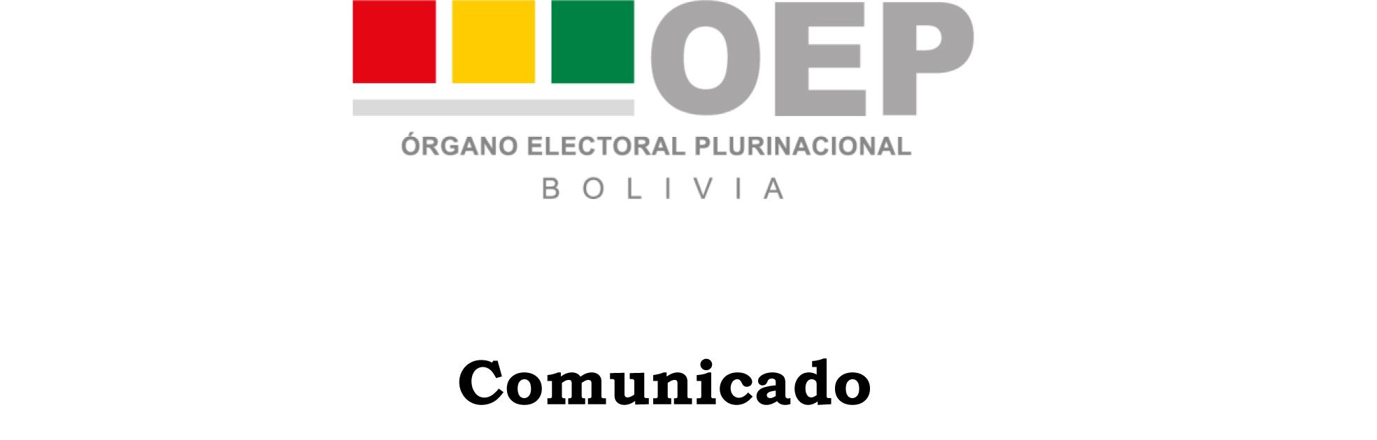 Comunicado TSE 17-05-2020