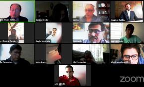El TED Chuquisaca informa a las organizaciones políticas sobre la conformación de escaños en una conferencia virtual