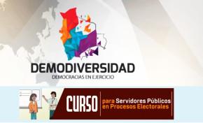 Servidoras y servidores públicos del TED Potosí se capacitan en un curso virtual sobre procesos electorales