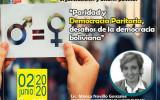 El TED Chuquisaca y organizaciones políticas analizan la democracia paritaria en la Tercera Mesa de Diálogo