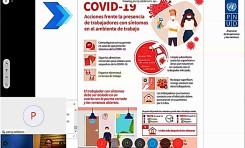 El personal del TED y Serecí de La Paz aprende a protegerse del Covid-19