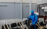 Fumigan instalaciones del TED Cochabamba y Serecí para prevenir brote del Covid-19