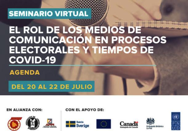 El TED Oruro socializa normas para difundir propaganda en un seminario con periodistas