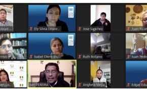 El TED de Oruro y delegados de organizaciones políticas coordinan tareas en la primera reunión multipartidaria