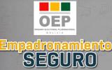 El TED La Paz brinda información del empadronamiento a delegados de 8 organizaciones políticas