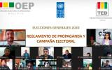 El TED Tarija difunde el Reglamento de propaganda y campaña electoral en taller virtual con más de 70 periodistas