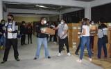 El TED Cochabamba recibe primer lote de papeletas electorales