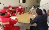 El TED Cochabamba y la Unidad de Bomberos diseñan un plan para prevenir incendios en el CITEC