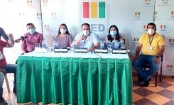 TED Pando elige en sorteo público a 2.418 juradas y jurados electorales