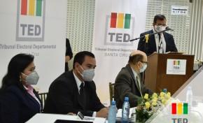 TED Santa Cruz sortea a 54.096 juradas y jurados electorales para las elecciones 2020