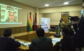 """La sociedad civil de Oruro presenta la iniciativa de observación electoral """"Observa Bolivia"""""""