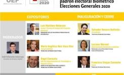 Conversatorio nacional sobre el saneamiento del Padrón Electoral Biométrico