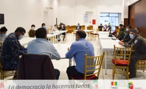 TED Cochabamba presenta al Sedes el Protocolo de bioseguridad por la emergencia del COVID-19 y el Decálogo del votante