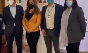 Representante del PNUD felicita al TED de Chuquisaca por el cumplimiento del Calendario electoral