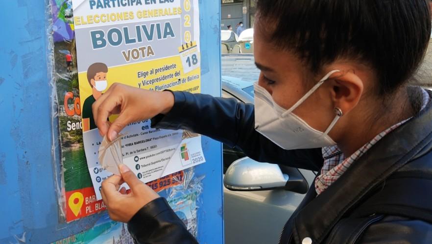 Habilitan tres recintos electorales para la votación en Barcelona