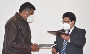 TED La Paz y Agamdepaz firman acuerdo para garantizar la bioseguridad en las Elecciones Generales 2020
