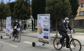 TED Oruro presenta materiales informativos del proceso  electoral e inicia novedosa campaña con vallas móviles