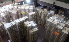 Llegan todas las maletas y actas electorales al TED Oruro