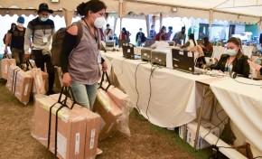 El TED Cochabamba informa que 6.390 maletas electorales ya están en el Centro Departamental de Cómputo