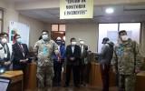 El Centro de Monitoreo e Incidencias de Oruro reporta el retorno paulatino del material electoral con custodia militar