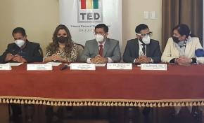 El TED de Chuquisaca conformó el Centro de Monitoreo e incidencias Electorales