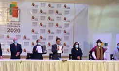 TSE presenta los resultados oficiales de las Elecciones Generales 2020 y proclama a los candidatos elegidos