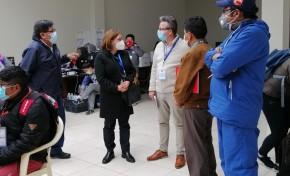 Observadores de la Unión Europea destacan el progreso de las actividades electorales del TED Potosí
