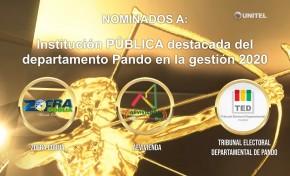 El TED Pando y el Presidente de la institución son nominados a los Premios Bruno Rácua 2020