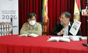 Autoridades del TED Oruro lamentan intentos de desacreditar la labor de la institución