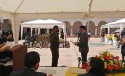 El TED Chuquisaca reconoce el trabajo de las Fuerzas Armadas, Policía, instituciones y gobiernos municipales