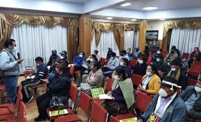 El TED Potosí participa en un taller de la ACOP para promover la paridad política en la Elección 2021