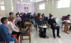 El TED Potosí capacita a delegados políticos para la inscripción y registro digital de candidaturas