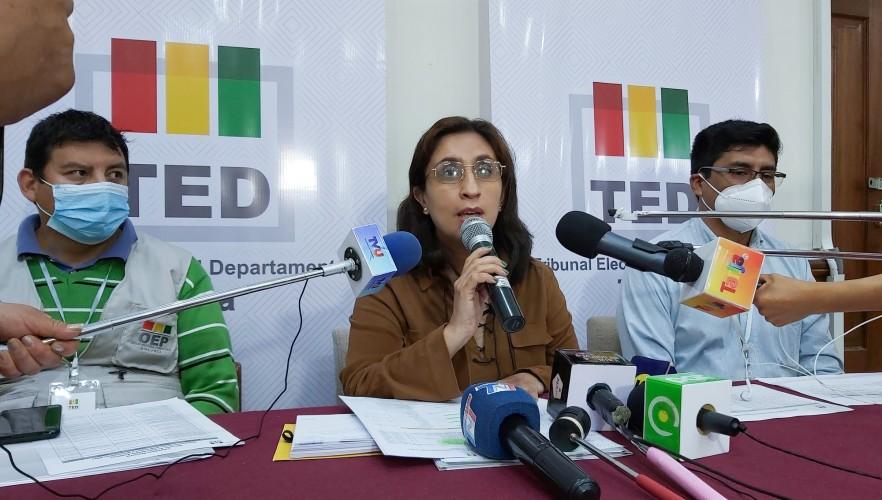 El TED Tarija crea nueve recintos electorales