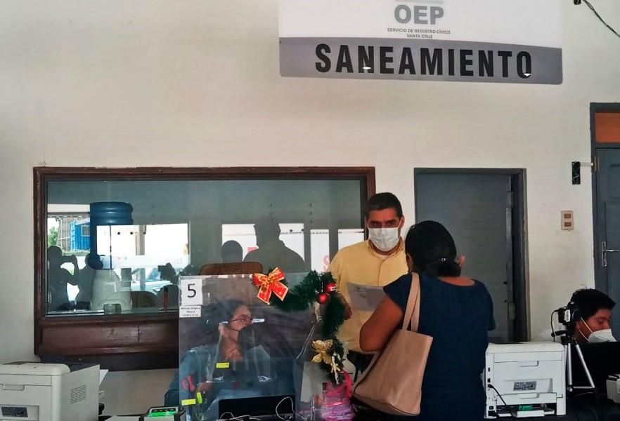 Durante tres días el Serecí hará inscripciones y saneamiento documental gratuito en Chulumani